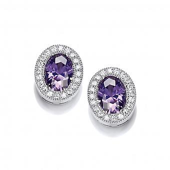 Cavendish French Timeless Elegance Amethyst Earrings