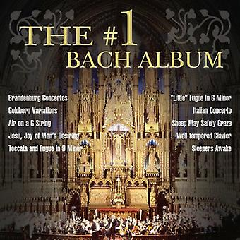 #1 Bach Album - The #1 Bach Album [CD] USA import