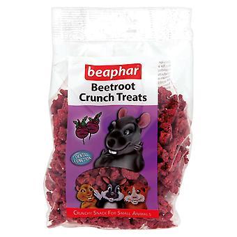 Beaphar kleine dierlijke rode biet Crunch behandelt 150g (Pack van 6)