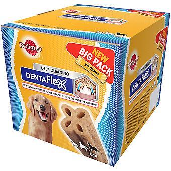 Pedigree C&t Dentaflex Bulkpack Large 9x120g