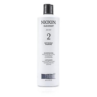 Nioxin System 2 Cleanser For Fine Hair, Noticeably Thinning Hair 500ml/16.9oz