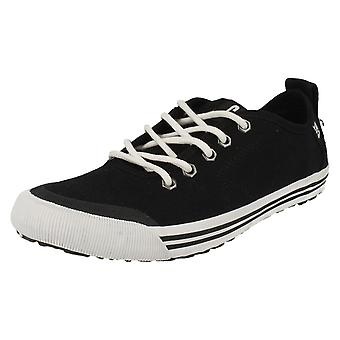 Mens CAT Casual Shoes Alias Canvas