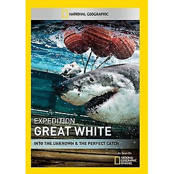 Expeditie Great White: De onbekende & Perfect [DVD] VS importeren