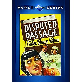 Disputed Passage [DVD] USA import