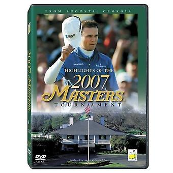 Highlights of the 2007 Masters Tournament [DVD] USA import