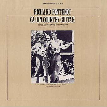 Richard Fontenot - Cajun Country Guitar [CD] USA import