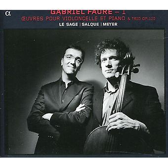 G. Faure - Gabriel Faur: Oeuvres hæld Violoncelle Et Piano [CD] USA import