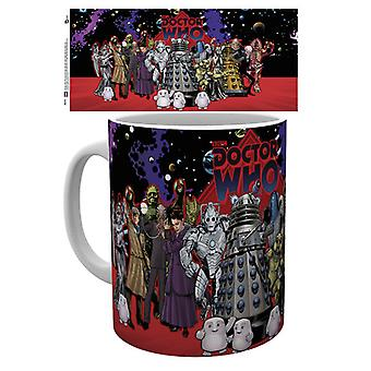 Doctor Who Group Mug