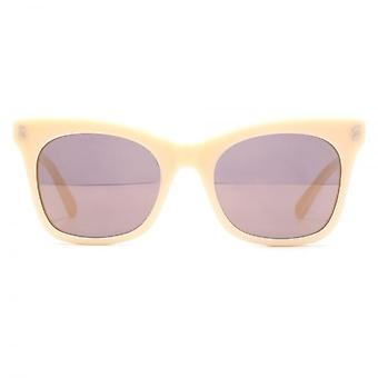 Stella McCartney Essentials Peaked Cateye Sunglasses In Nude Pink