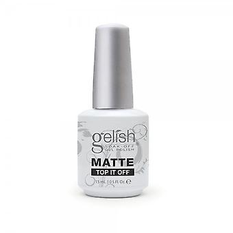 Gelish Gelish Matte Top Coat