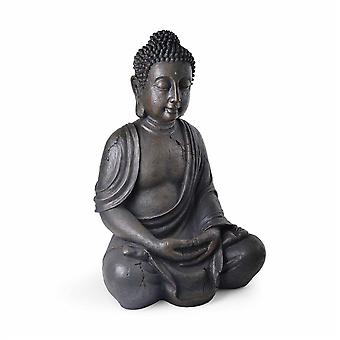 XXL Detailed Stone Look Resin Buddha Garden Ornament 68cm
