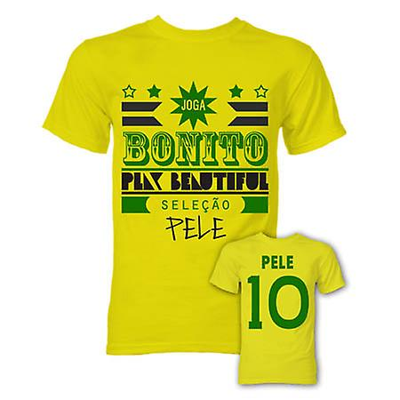 Pele Joga Bonito T-Shirt (Yellow)