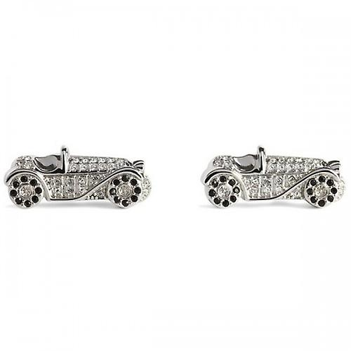 Simon Carter 25th Anniversary Car Cufflinks - Silver