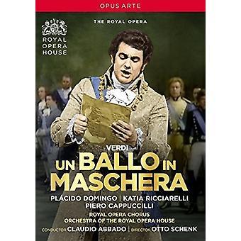 Giuseppe Verdi: Un Ballo in Maschera [DVD] USA importar