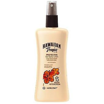 Hawaiian Tropic Protector Satin Spray Lotion