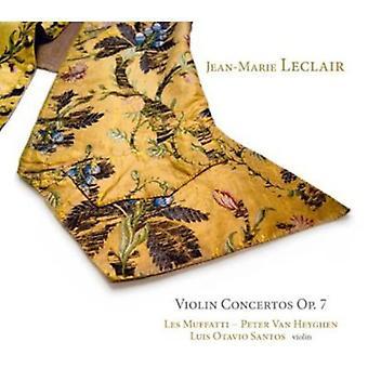 J. Leclair - Jean-Marie Leclair: Violinkoncerter, Op. 7 [CD] USA import