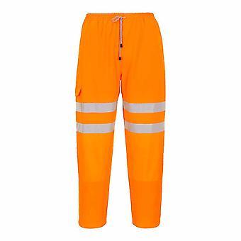sUw - Hi Vis seguridad ropa de trabajo carril pista lado correr fondos Galán
