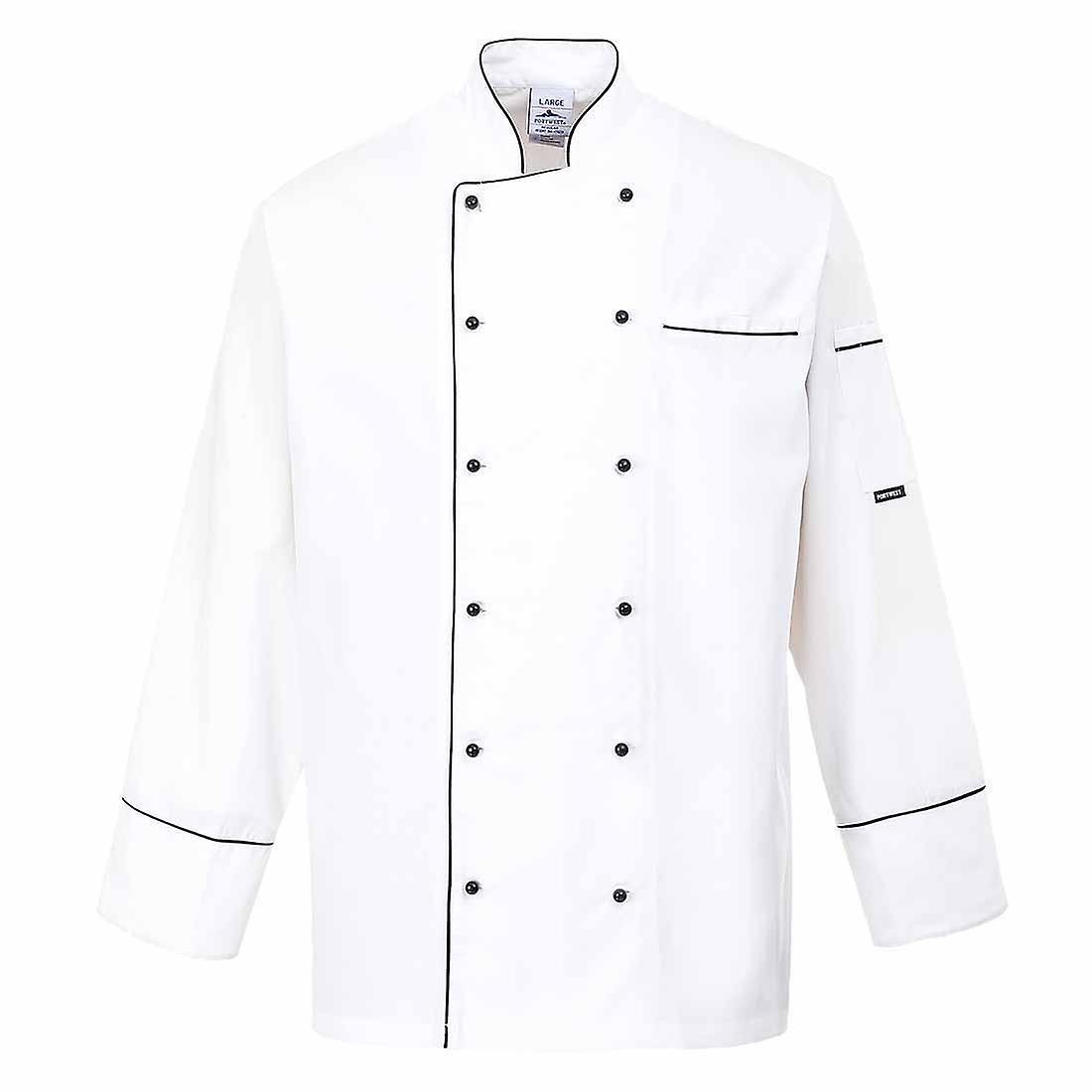 Portwest - Cambridge Chefs Kitchen Workwear Jacket