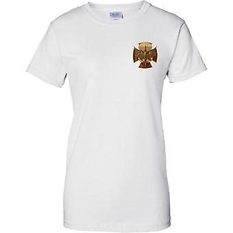 Forze speciali russe Spetsnaz Insignia Cap Badge - Ladies petto Design t-shirt