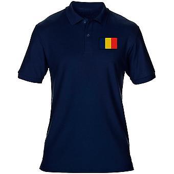 REME Royal elektriska maskiningenjörer - broderade TRF Logo - officiella brittiska armén Mens Polo Shirt