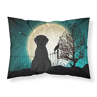 Halloween Scary Giant Schnauzer Fabric Standard Pillowcase