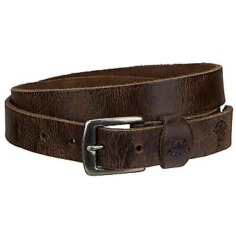 Billy the kid Jane of narrow leather belt with buckle M425-22