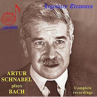 Arthur Schnabel - Arthur Schnabel spiller Bach [CD] USA import