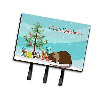 Coypu Nutria River Rat Christmas Leash or Key Holder