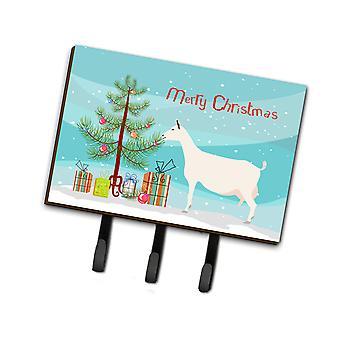 Carolines Treasures  BB9256TH68 Saanen Goat Christmas Leash or Key Holder