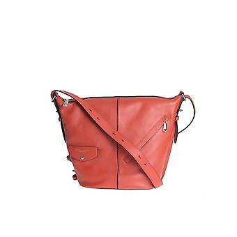 Marc Jacobs women's M0010930ROSSO red leather shoulder bag