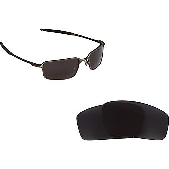 Square Wire (2006) Replacement Lenses Polarized Grey by SEEK fits OAKLEY