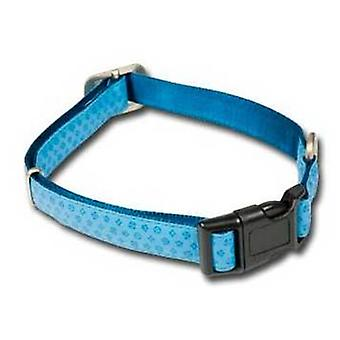 Nayeco MacLeather dog collar blue M (Dogs , Collars, Leads and Harnesses , Collars)