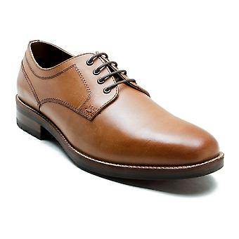 Red Tape Elcot Tan Men's Leather Derby Shoes