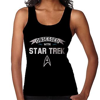 Obsessed With Star Trek Women's Vest