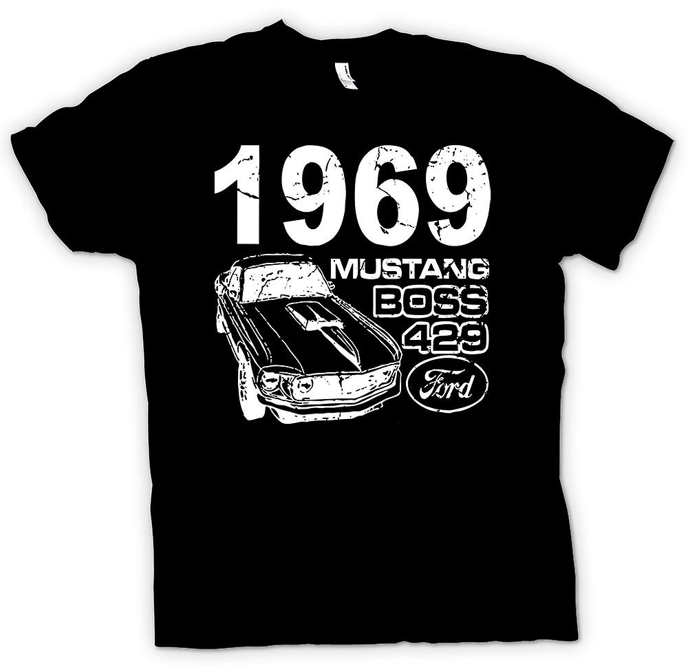 Kids T-shirt - 1969 Mustang Boss 429 - Classic US Car