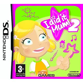 I did it Mum! 2 Girl (Nintendo DS) - Factory Sealed