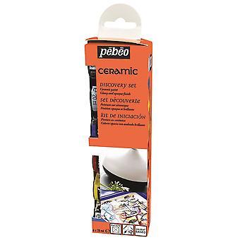 Odkrycie farby Pebeo ceramiczne zestaw 6 x 20ml