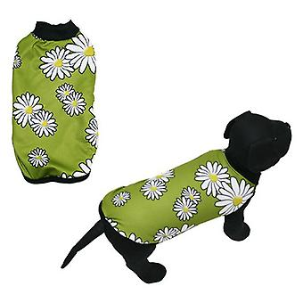 MI&DOG Abrigo Capa Felpado Margarita T-40 (Dogs , Dog Clothes , Coats and capes)