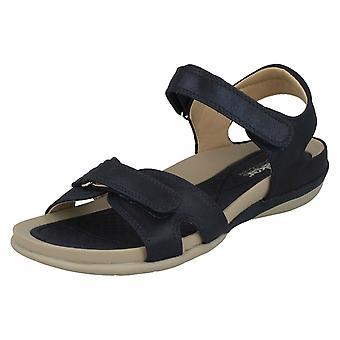 Ladies Rieker Strappy Sport Sandals V9462-14 - Blue Synthetic - UK Size 3.5 - EU Size 36 - US Size 5.5
