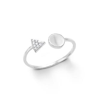 s.Oliver jewel ladies ring silver zirconia 201254