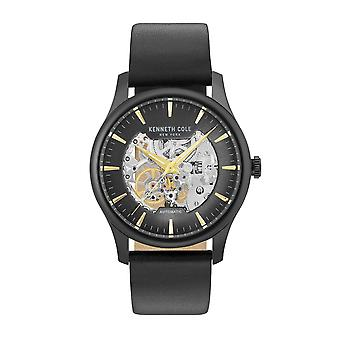 Kenneth Cole New York men's watch automatic leather KC15110002