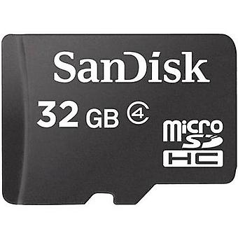 SanDisk SDSDQM-032G-B35 microSDHC 32 GB clase 4 la tarjeta
