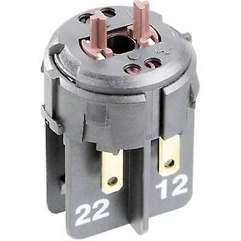 Kontakt 1 breaker, 1 maker låsen 24 Vdc RAFI 22FS 1.20.126.503/0000 1 computer(e)
