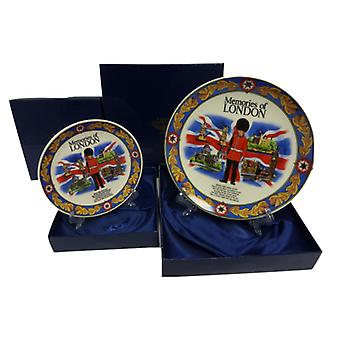 Union Jack Wear Memories Of London Display Plate M
