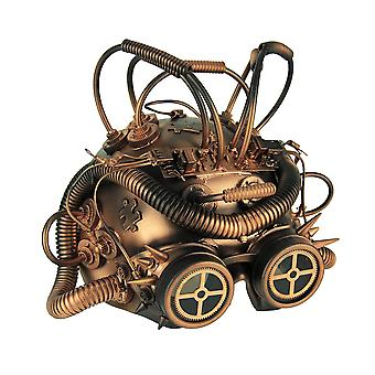 Steampunk Cepholopod Cosplay Half Mask With Goggles