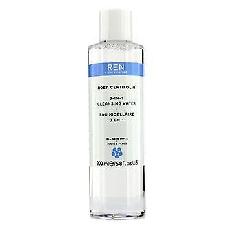 Ren Rosa Centifolia 3-In-1 Cleansing Water (All Skin Types) - 200ml/6.8oz
