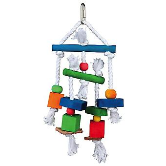 Trixie Natural Skin With Toys And Rope (Birds , Bird Cage Accessories , Toys)