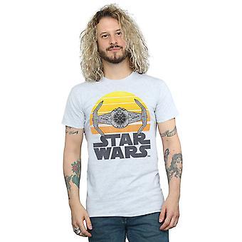Star Wars Sunset Tie Fighter T-Shirt homme