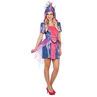 Unicorn ladies costume dress mythical creature Carnival Unicorn pet costume