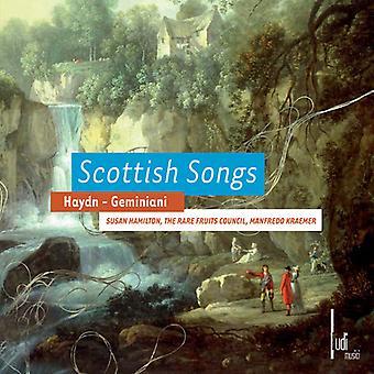 Haydn/Geminiani/Hamilton/Kraemer - Schottische Lieder [CD] USA import